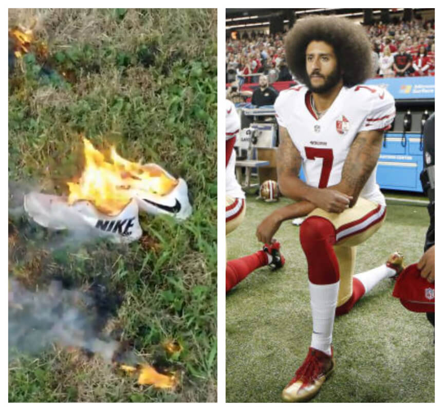 "Colin Kaepernick Is The Face Of Nike's 30th Anniversary ""Just Do It"" Ad - Here's Why Some People Are Actually Destroying Their Nikes"