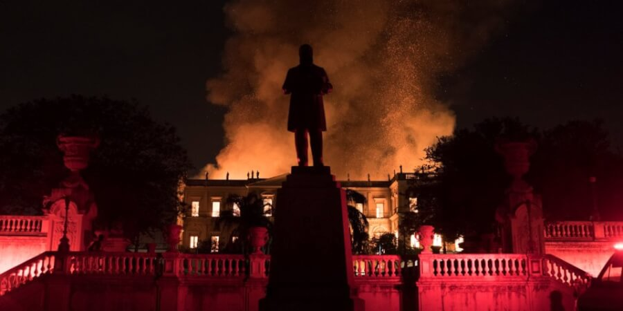 200-Year-Old Brazil National Museum Is On Fire: Here Are What Rare Artifacts Were Affected (PICTURES)