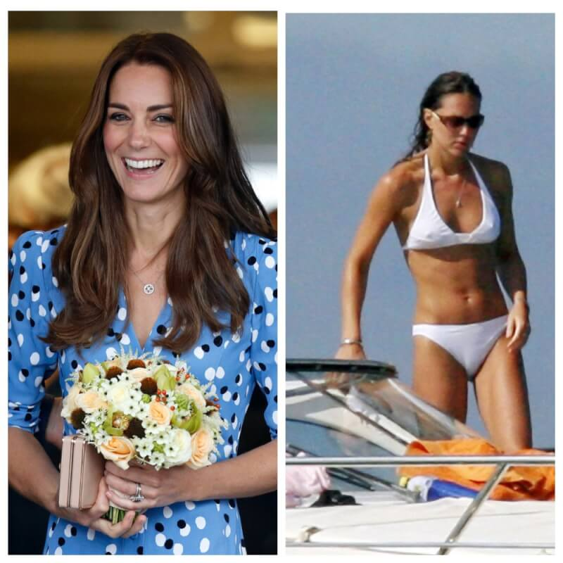 Kate Middleton In Bikini 15 More Royal Family Members And First
