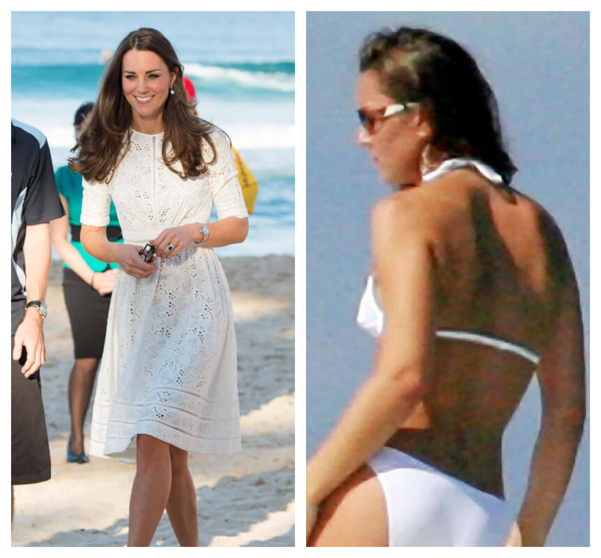 32b654f24cd Kate Middleton In Bikini + 15 More Royal Family Members and First Ladies In  Their Swimsuits