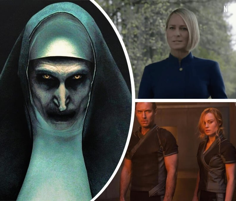 The Nun Premiere, 'Captain Marvel' First Look + 7 More Movie News and Announcements of the Week