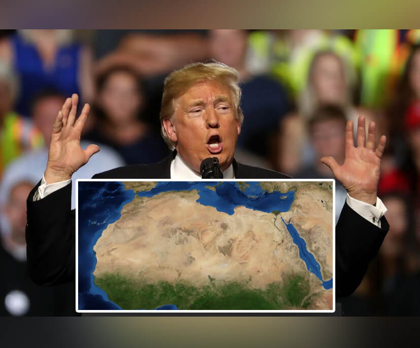 Donald Trump Advised Spain to Build a Wall Across Sahara to Stop Migrants Crossing a Desert...A Desert!
