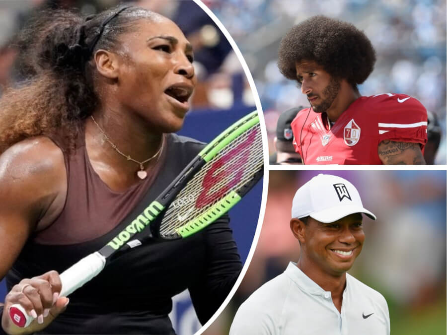 Serena Williams, Colin Kaepernick + 3 More Sports Star Scandals That Kind of Spoiled Their Reputation