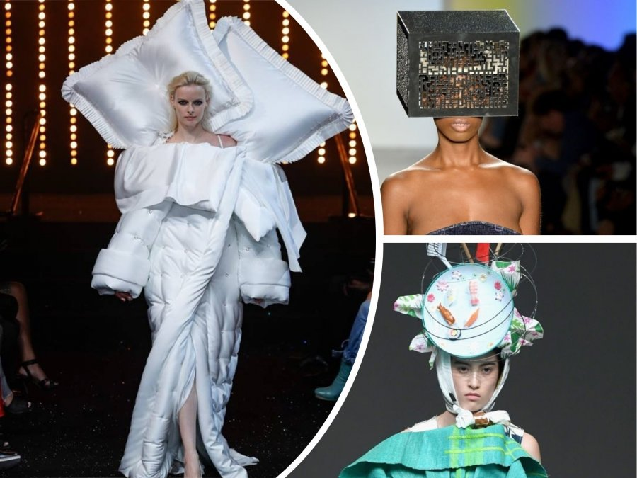 An Inflatable Pool As a Dress + 9 Other Weirdest and Funniest High Fashion Looks (PART 2)