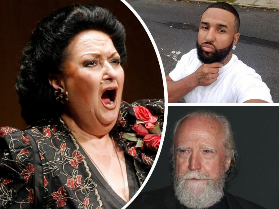 RIP: Montserrat Caballé, Scott Wilson and Hollywood Play Left Us This Weekend - Read the Details