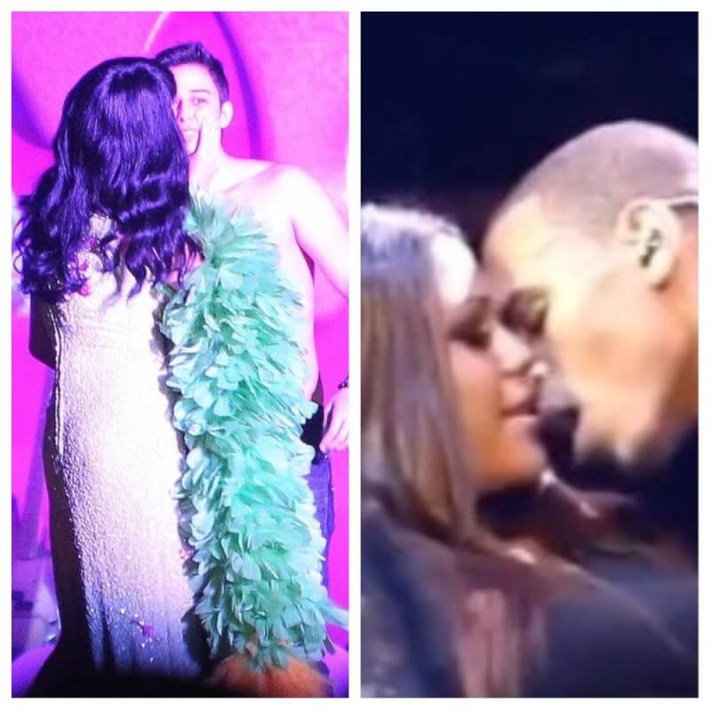 Drake, Katy Perry + 5 More HOT Celebrities Who Like To Make Out Their Fans On Stage (Videos)