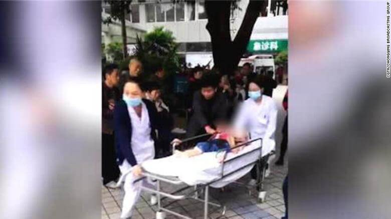 China Kindergarten Stabbing: At Least 14 Children Injured in a Knife Attack; Woman Arrested