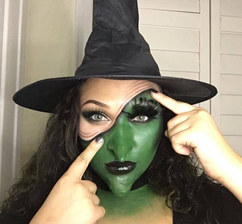 Witch Halloween Makeup Easy.9 Jaw Dropping Yet Easy To Do Halloween Makeup Ideas Shared