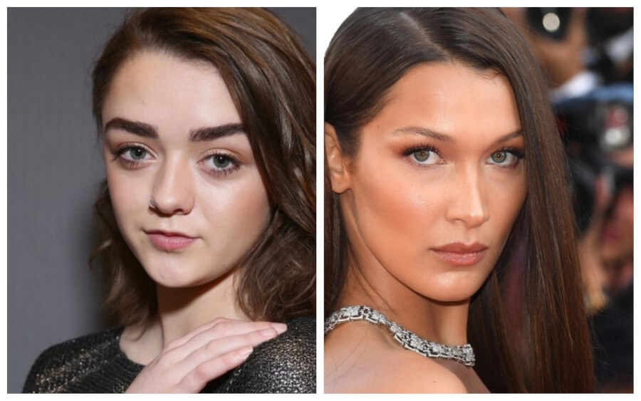 14 Celebs Who Are Surprisingly the Same Age - Wow, Maisie Williams and Bella Hadid Are Both 21?