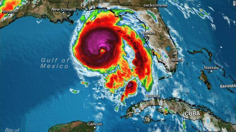 Alert! 'Extremely Dangerous' Hurricane Michael Is Now Category 4 Storm Forces More Than 120,000 People to Evacuate in Florida, US
