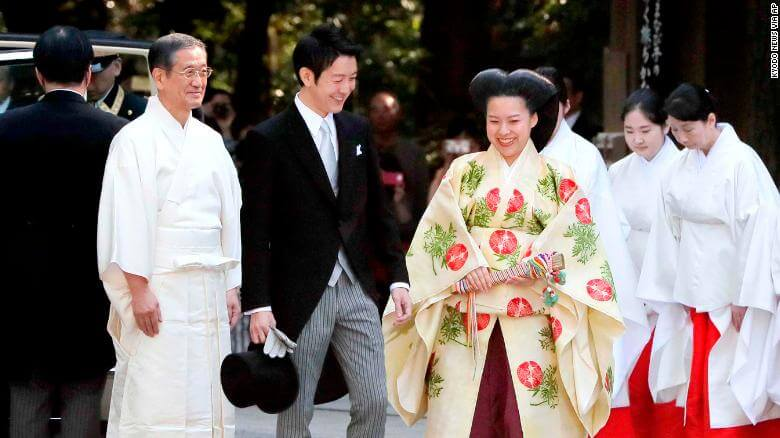 Royal Wedding in Japan: Princess Ayako Surrenders Her Royal Status as She Marries Commoner (Pictures)