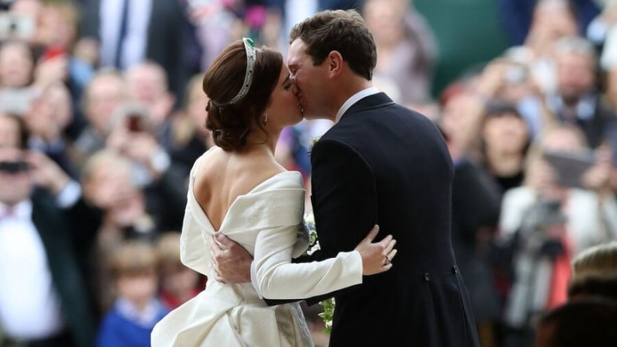 HOT NEWS: Princess Eugenie and Jack Brooksbank Royal Wedding in Stunning Pictures