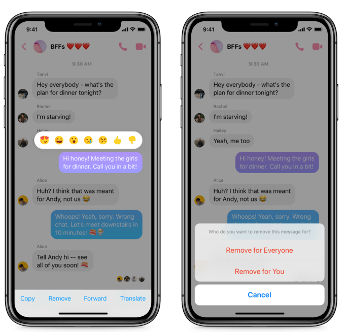 Facebook Messenger Now Allows You to Delete Sent Messages - Here's How to Use 'Remove for Everyone' Feature