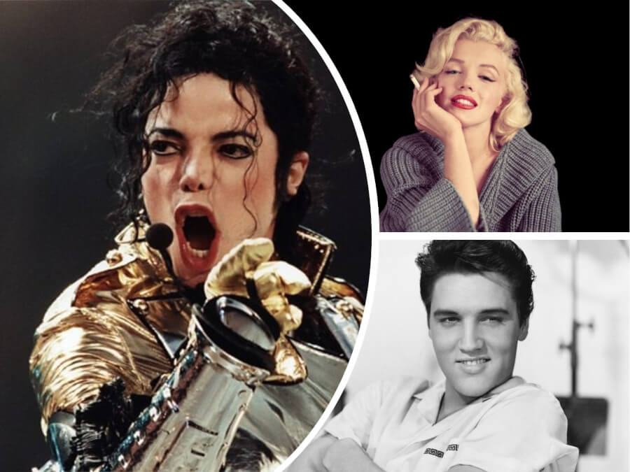 Top-10 Highest-Paid Dead Celebrities of 2018 - Marilyn Monroe Back On The List