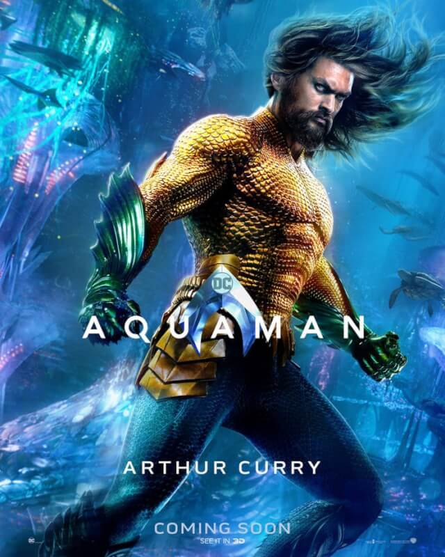 Aquaman Teased Fans with 7 New Character Posters and Designs Are Just So Impeccable That It Hurts