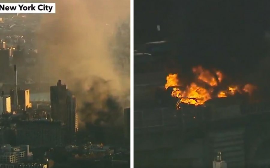 BREAKING! At Least 1 Killed, 6 Injured in Furious Blaze on Brooklyn Bridge As 3 Vehicles Caught Fire