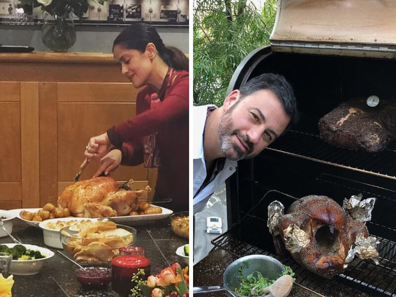 See How  Your Favorite Celebrities Spend Thanksgiving in 10 Amazing Pics