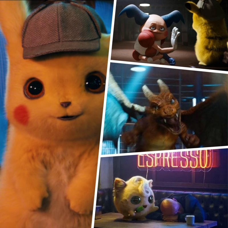 Detective Pikachu Movie What To Expect All Realistic Pokemon