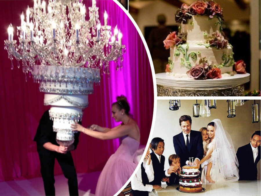 11 Most Interesting Facts About Celebrity Wedding Cakes - How About A Cake For $11 000?
