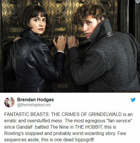 """Fantastic Beasts: The Crimes of Grindelwald"" Early Screening - Spoiler-FREE Reviews and Comments"