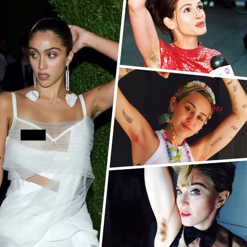 Lourdes Leon, Madonna + 6 More Celebs That Are NOT Afraid to Show Armpit Hair