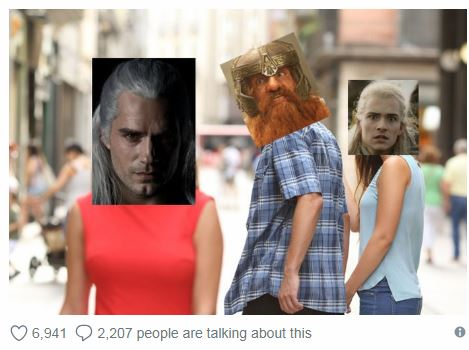 "Netflix, WHY?! 9 Hilarious Memes Inspired by Henry Cavill in""The Witcher"" First Look"