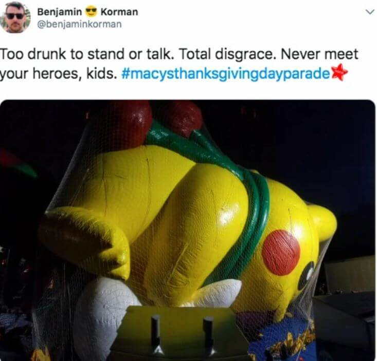 10 Funniest Memes About The Macy's Thanksgiving Day Parade 2018