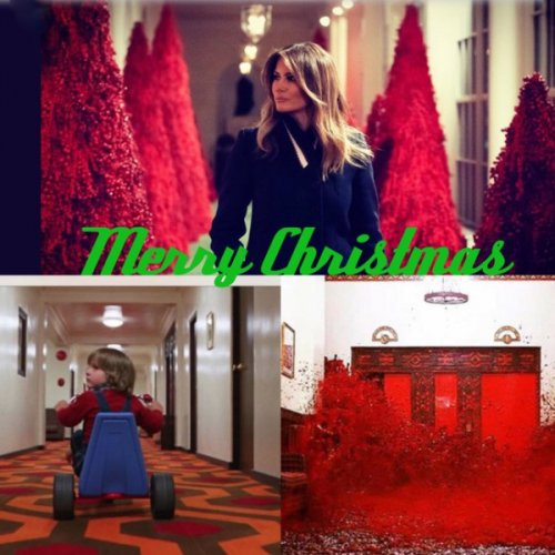 melania-trump-red-christmas-decorations-meme