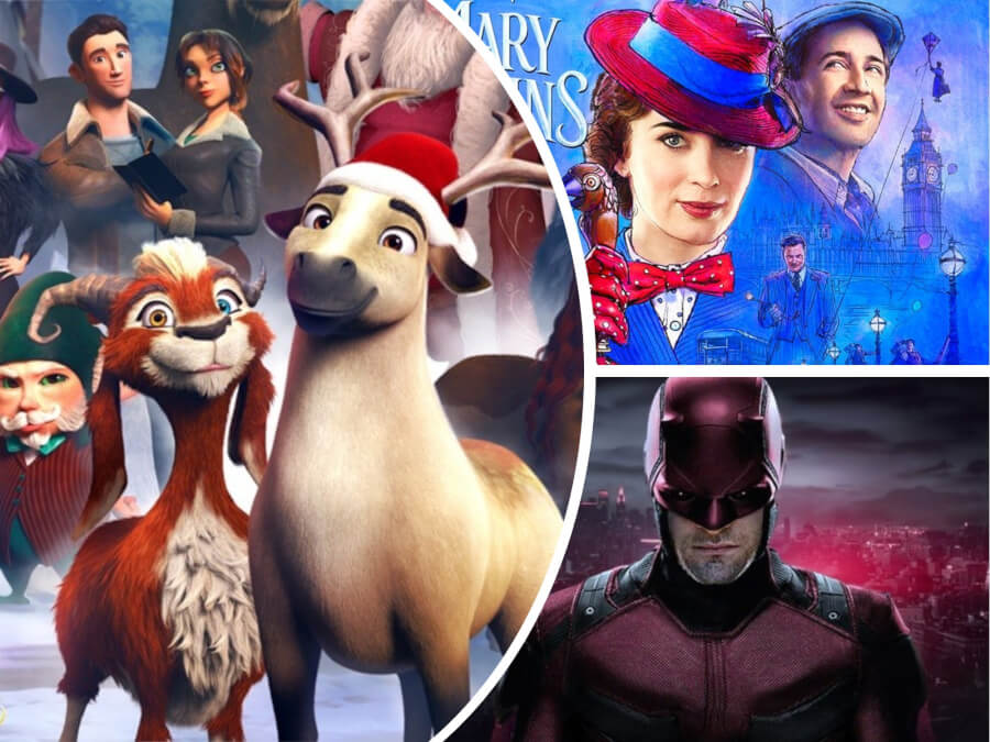 Nexter Movie News: Netflix Cancels 'Daredevil', 'Anna and the Apocalypse' and 'Elliot The Littlest Reindeer' Premieres + More