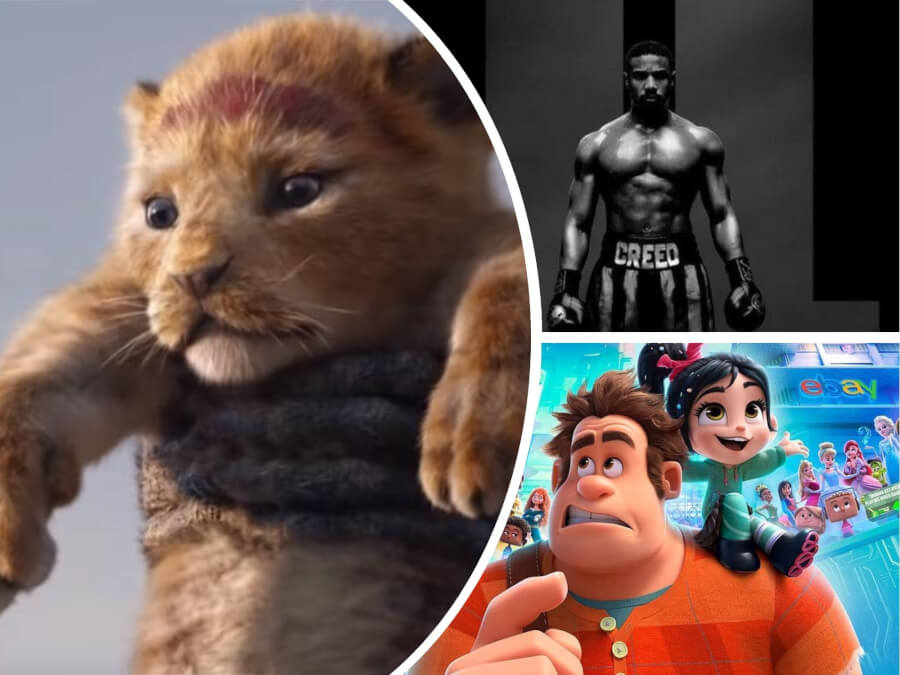 Nexter Movie News: First 'Lion King' Trailer, 'Ralph Breaks the Internet' Premiere + 6 More