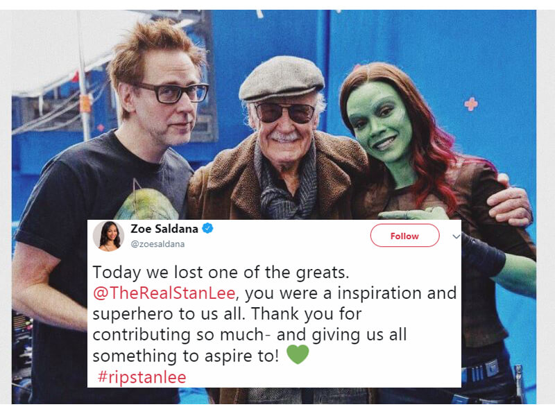 RIP, Legendary Father of Comics: Celebs Honor Stan Lee with Heart-Wrenching Memories and Pictures