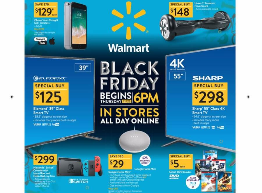 Black Friday 2018: 7 BEST Walmart Deals You Should NOT Miss - Get iPhone 6 for $149!