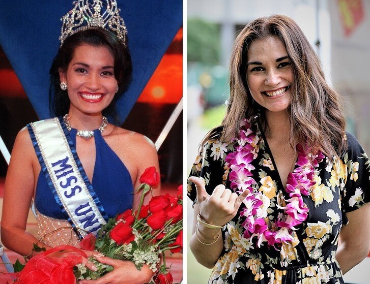 Miss Universe Winners Then and NOW in 2018 - Natural Beauty is Timeless