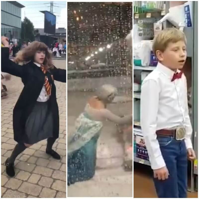 Yodeling Kid, Dancing Hermione + 7 Other Viral Videos of 2018