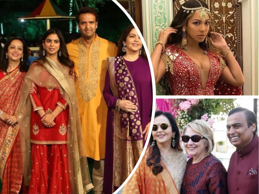 Ambani-Piramal Pre Wedding: Beyonce, Hillary Clinton, Priyanka Chopra - Who Else Was Seen at the India's Richest Wedding of the Year?