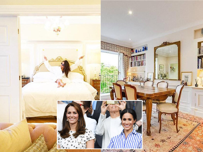$4m Fancy and Luxurious Houses Meghan and Kate Left After Royal Wedding - You Can Actually Buy It!