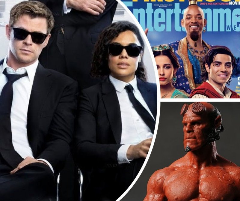 Nexter Movie News: 'Men In Black International' Trailer, 'Bumblebee' and 'Second Act' Premieres, 'Aladdin' First Look and Much More!