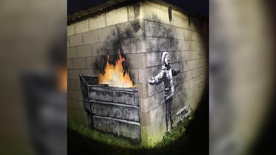 TOP 7 Banksy's Most Controversial and Scandalous Artworks Including NEW One in Wales