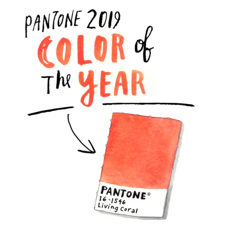 pantone crowned 39 living coral 39 as color of the 2019 how kim kardashian kate middleton and. Black Bedroom Furniture Sets. Home Design Ideas