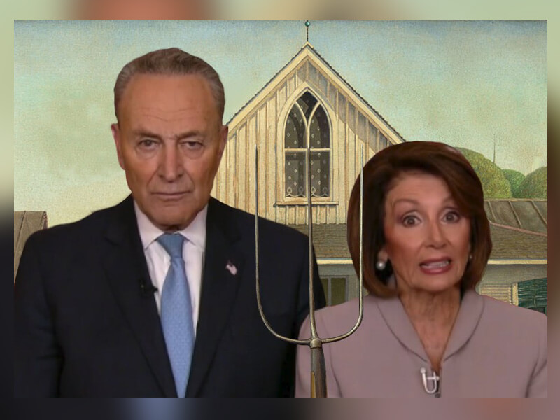 "Chuck Schumer and Nancy Pelosi Funny ""Disappointed Parents"" Meme Is Something You'll Find Totally Relatable"