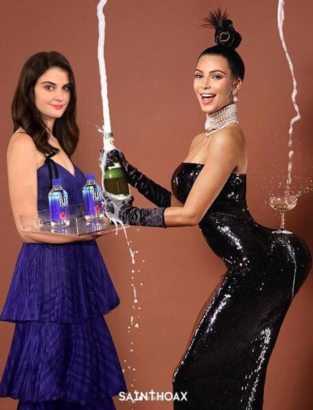 New Year, New Meme: Fiji Water Girl Is Real Star of Golden Globes 2019 - See Her Photobombing 10 Pics