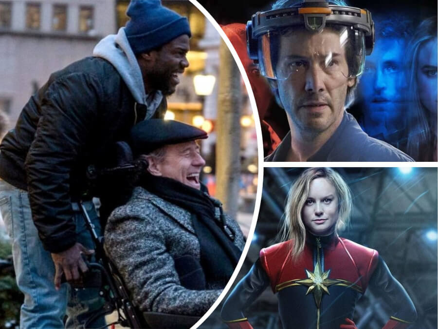 "Nexter Movie News: ""The Upside"" and ""Replicas"" Premieres, ""Punisher"" Season 2 Trailer, Margot Robbie's Barbie Movie and More"