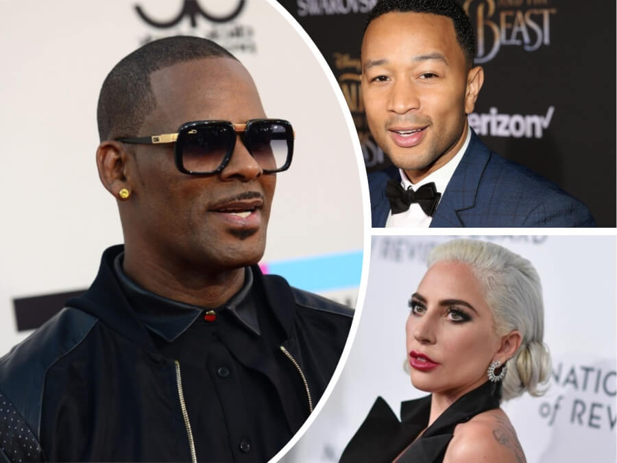 Lady Gaga Removes Song with R. Kelly from iTunes - 13  Celebs Who Have Collaborated with R. Kelly and How They React After Allegations Against Him