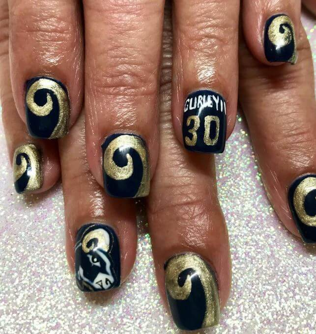 Can T Wait Till Super Bowl 2019 Grab These 9 Nail Art Ideas For True Fans