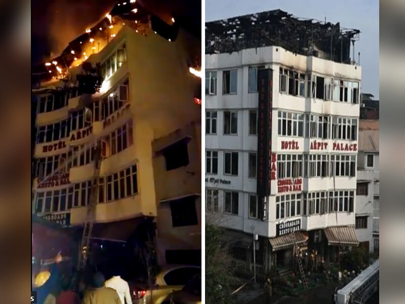 SHOCKING! 17 Dead in Delhi Hotel Fire Nightmare - See Horrifying Videos and Photos