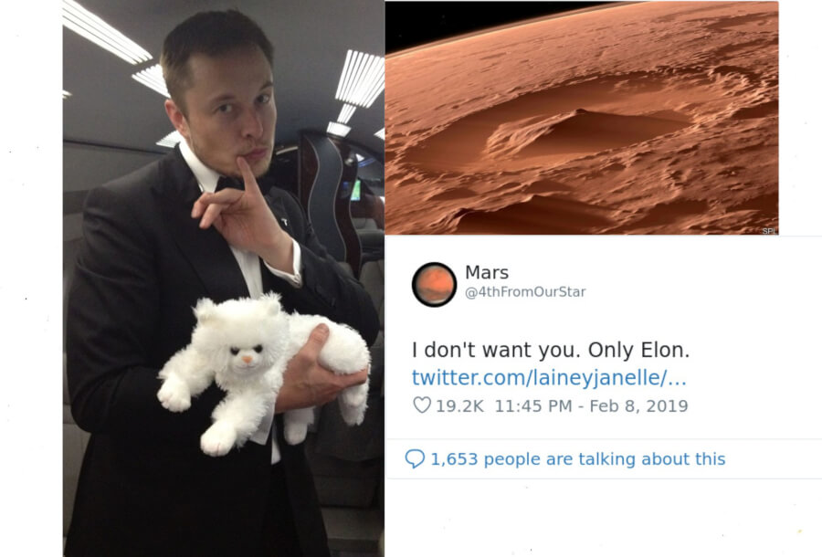 It's Valentine's Day So Let's Talk About The Way Elon Musk And Mars 'Flirt' On Twitter - It Is Funny or Weird?