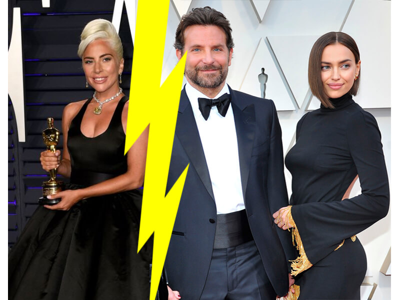 Lady Gaga and Irina Shayk FEUD Timeline: Oscar's Chemistry with Bradley Cooper, Awkward Hug and More