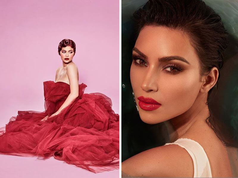 Kim and Kylie's Promo for Valentine's Day + 6 More BEST Kardashian-Jenner Pics of Week
