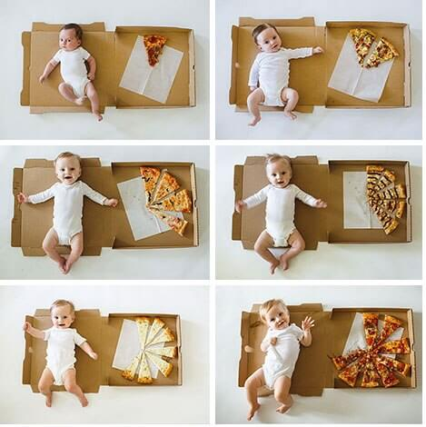 7 Adorable and Creative Ways to Mark Baby's Growth During Its First Year