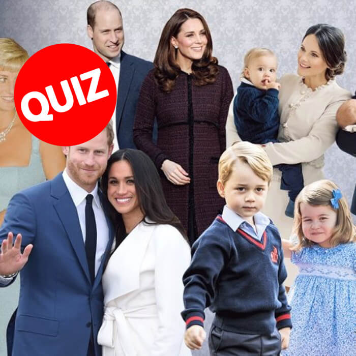 QUIZ: Kate Middleton, Queen or Meghan Markle - Which Member of the Royal Family Are You?